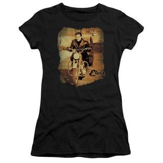 Elvis/Hit The Road Junior Sheer in Black