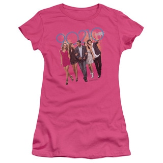 90210/Walk Down The Street Junior Sheer in Hot Pink