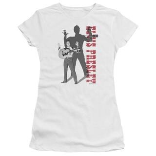 Elvis/Look No Hands Junior Sheer in White
