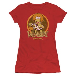 Fraggle Rock/Wembley Circle Junior Sheer in Red in Red
