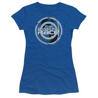 Amazing Race/Around The Globe Junior Sheer in Royal