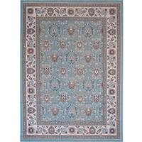 Home Dynamix Somerset Collection Contemporary Aqua Area Rug