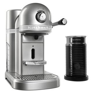 KitchenAid KES0504SR Nespresso Bundle, Sugar Pearl Silver