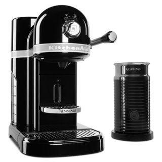 KitchenAid KES0504OB Nespresso Bundle, Onyx Black