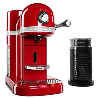 KitchenAid KES0504ER Nespresso Bundle, Empire Red
