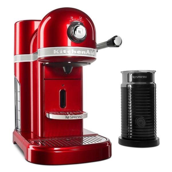 Shop Kitchenaid Candy Apple Red Nespresso Espresso Maker