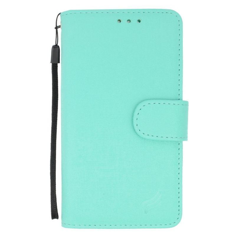 Insten Black Leather Case Cover For Alcatel One Touch Con...