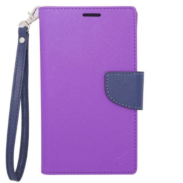 Shop Insten Black Leather Case Cover For Alcatel One Touch Elevate
