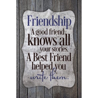 Shop Quot Friendship A Good Friend Knows Quot New Horizons