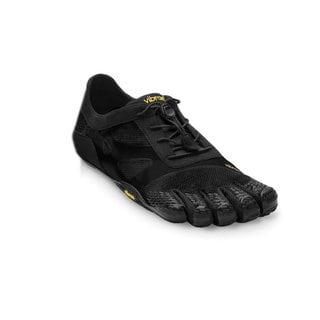 Vibram Men's Fivefingers KSO EVO 14M0701 Black Polyester Fabric Sneakers