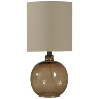Journee Home 'Vaso Luna' 20-inch Mini Spanish Glass Ball Table Lamp