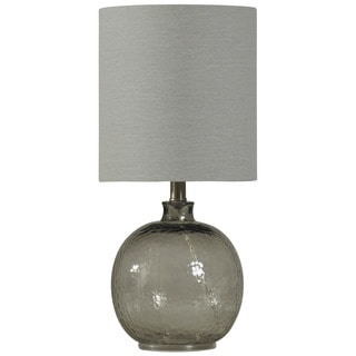 Journee Home 'Vaso Luna' 20-inch Mini Spanish Glass Ball Table Lamp