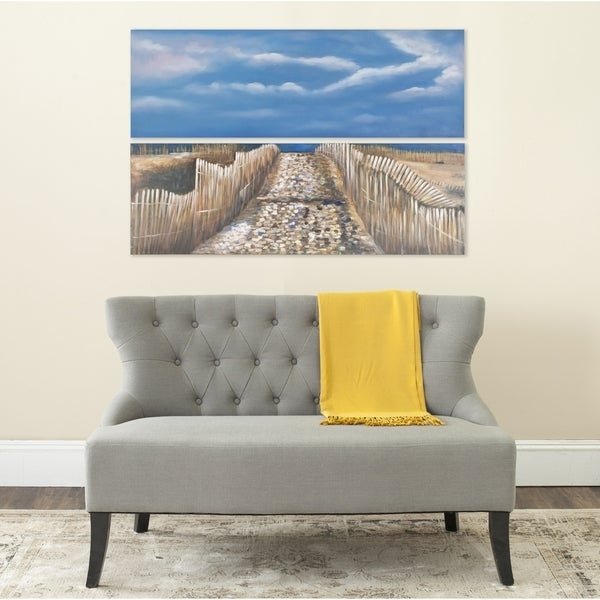Safavieh Sea and Sand Diptych Canvas Wall Art. Opens flyout.