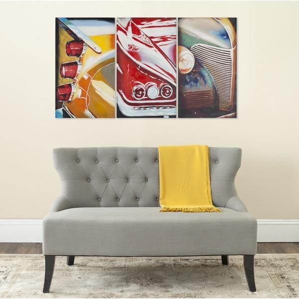 Safavieh Auto Legends Triptych Canvas Wall Art