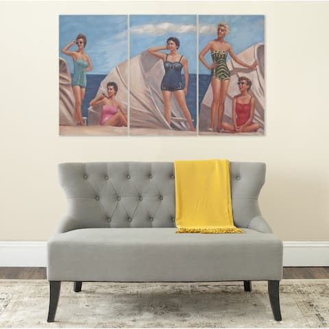 Safavieh by The Sea Triptych Canvas Wall Art