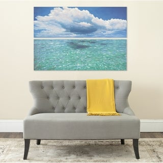 Safavieh Caribbean Seas Diptych Canvas Wall Art
