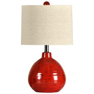 Journee Home 'Forbidden Fruit' 21.5-inch Ceramic Table Lamp