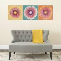 Safavieh Shasta Triptych Canvas Wall Art