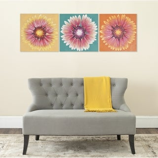 Safavieh Shasta Triptych Canvas Wall Art