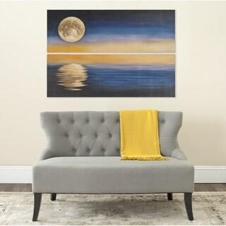 Safavieh Moonscape Diptych Canvas Wall Art
