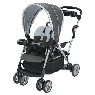 Graco RoomFor2 Stand Black, Grey, White Plastic Ride Click Connect Stroller