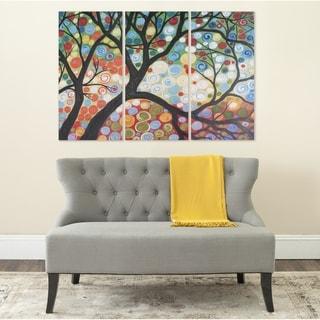 Safavieh Cherry Blossom Triptych Canvas Wall Art