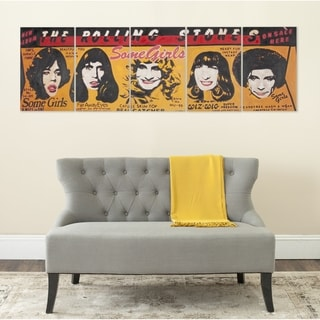 Safavieh Girl Power 5-piece Canvas Wall Art