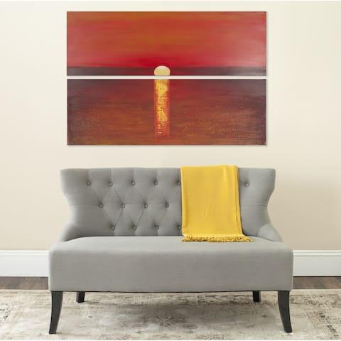 Safavieh Sanibel Sunset Diptych Canvas Wall Art