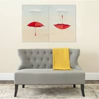 Safavieh Be Prepared Diptych Canvas Wall Art