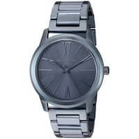 Michael Kors Women's  'Hartman' Blue Stainless Steel Watch