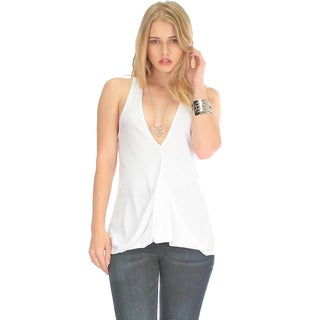 Women's Twist-Back Tank Top