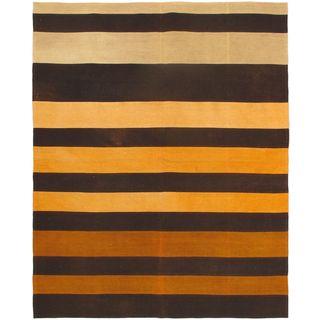 ecarpetgallery Wool Hand-woven Bohemian Kilim Rug (6'7 x 8'2)
