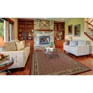 Concord Global Pristine Hearth Rug - 3'11 x 5'7 (4 options available)