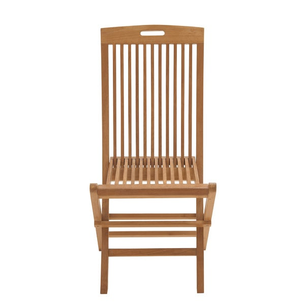 fortable Wood Teak Folding Chair Free Shipping Today