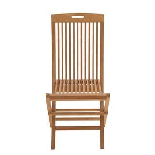 Comfortable Wood Teak Folding Chair