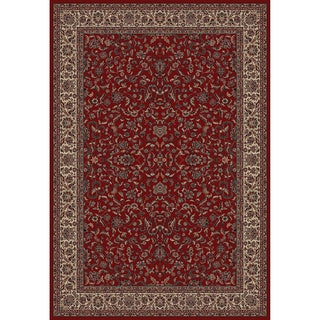 Machine-made Pristine Collection Crystal Polypropylene Rug (2' x 3'3)