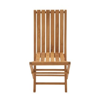 Portable And Useful Teak Wood Folding Chair