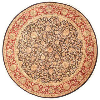eCarpetGallery Pako Persian 18/20 Brown Wool Hand-knotted Rug (8'0 x 8'0)