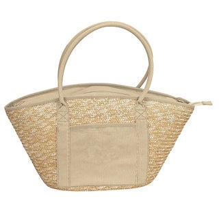 Goodhope Natural Structured Eco-tote Beach Tote Bag