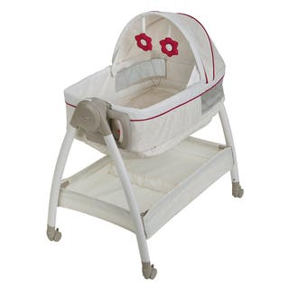 Graco Dream Suite Ayla White Plastic Bassinet|https://ak1.ostkcdn.com/images/products/11907766/P18800432.jpg?impolicy=medium
