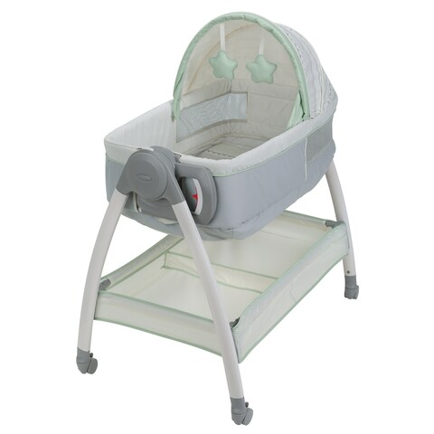 Graco Dream Suite Green Plastic Bassinet and Changer