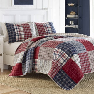 Nautica Ansell Cotton Reversible Quilt (3 options available)