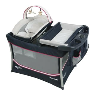 Graco Everest Pack 'n Play Ayla Multicolor Plastic Playard|https://ak1.ostkcdn.com/images/products/11907796/P18800446.jpg?impolicy=medium
