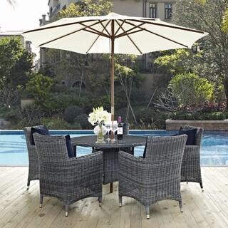 Invite 7-piece Outdoor Patio Sunbrella Dining Set