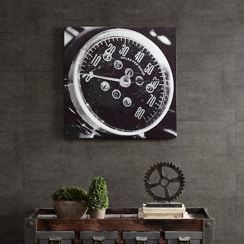 INK+IVY Speedometer Grey MDF Box
