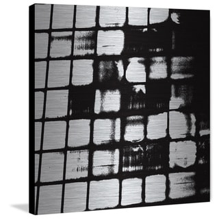 Marmont Hill 'Behind the Grate' Painting Print on Brushed Aluminum