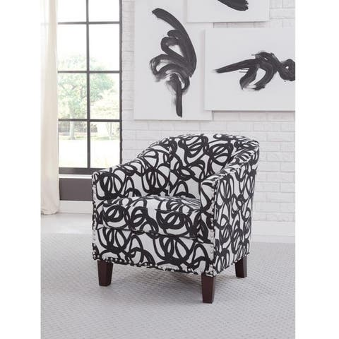 Giles Accent Chair with Nail Heads
