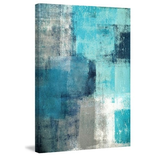Marmont Hill 'Meditation in Blue II' Painting Print on Canvas