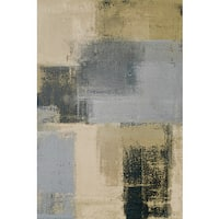 Marmont Hill 'Elevated Contrast' Painting Print on Canvas - Multi-color