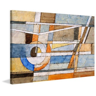 Marmont Hill 'Exploring Dimension' Painting Print on Canvas